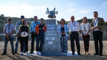 MotoGP: La curva 6 di Jerez ora è dedicata al samurai Dani Pedrosa