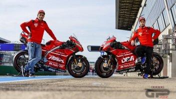 MotoGP: Dovizioso's and Petrucci's Ducatis