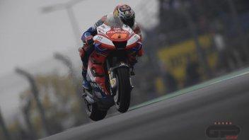 """MotoGP: Miller: """"I surprised you... I didn't mount the slicks on the wet asphalt."""""""