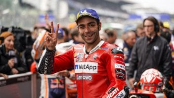 """MotoGP: Petrucci: """"With these conditions, those who remain standing will win."""""""