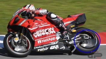 MotoGP: Ducati closes the wheel: new aerodynamics on Pirro's bike
