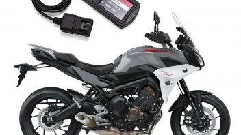 Moto - News: Power Vision 3 per Tracer 900 e 700: a tutto tuning