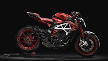 Moto - News: MV Agusta dona una Brutale 800 RR LH44 all'amfAR
