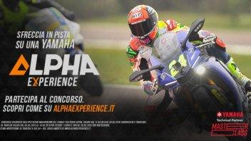 """Moto - News: """"Alpha Experience"""" ti porta in pista con Simone Corsi"""