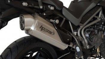 Moto - News: HP Corse 4-Track: sound e prestazioni per la Triumph Tiger 800