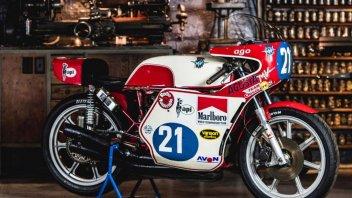 News: Giacomo Agostini in sella all'iconica MV 350 nelle gare TT Classiche