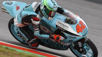 Moto3: A Barcellona tutti giù per terra: vince Ramirez