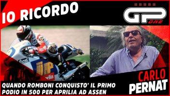 MotoGP: Pernat: il primo podio di Romboni con l'Aprilia 500 ad Assen