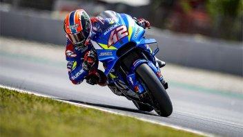 MotoGP: FP3: Rins batte Quartararo a Barcellona. Rossi 4°, spavento Morbidelli
