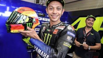 MotoGP: Rossi's tricolor helmet for Mugello
