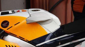 MotoGP: In Barcelona, a Dumbo-like tank on Lorenzo's Honda