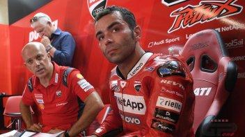 """MotoGP: Petrucci: """"Con Ducati sono fra l'incudine e il martello"""""""