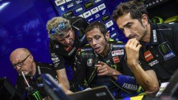 """MotoGP: Rossi: """"Sono lento e non so il perché"""""""