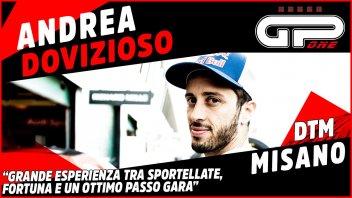 """MotoGP: Dovizioso: """"Sportellate e un po' di fortuna! Grande esperienza il DTM"""""""