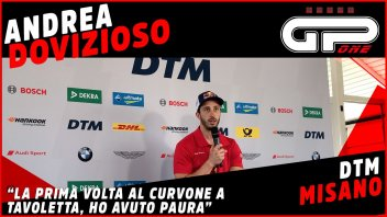 "MotoGP: Dovizioso: ""Ho avuto paura al Curvone di Misano nel primo test DTM"""