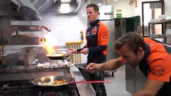 MotoGP: Pol Espargarò e Zarco: dalla pista ai fornelli