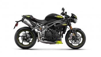 Moto - News: Triumph: svelate le colorazioni della gamma 2020