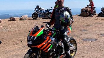 News Prodotto: Aprilia vince a Pikes Peak: tragedia Dunne con la Ducati Streetfighter