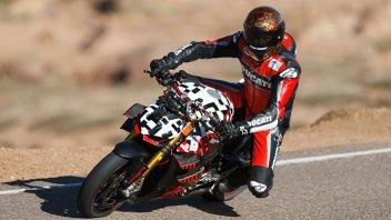 News Prodotto: Carlin Dunne racconta la sua Pikes Peak con la Ducati Streetfighter V4