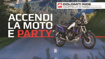 Moto - News: Dolomiti Ride: l'appuntamento Yamaha tra motori e musica