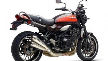 Moto - News: Kawasaki Z900RS Classic Edition: in promozione, con il kit dedicato