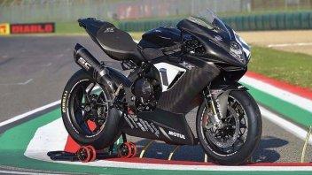 Moto - News: MV Agusta F3 800 XX: perla nero carbonio fatta per correre