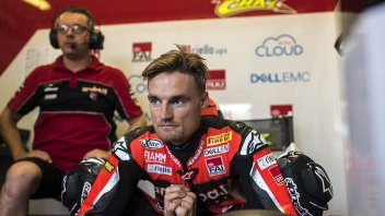 """SBK: Podium fizzled out for Davies: """"An electrical problem with the gearbox"""""""