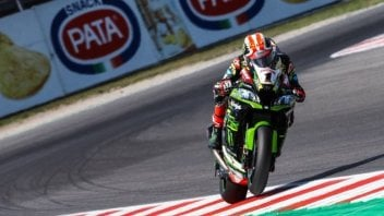 SBK: FP1: Rea and the Kawasaki scare Bautista, Pirro 14th