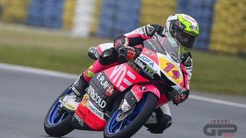 Moto3: WUP: Arbolino il migliore sul bagnato del Sachsenring