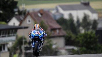 """MotoGP: La pazza idea di Rins: """"In qualifica con la gomma dura"""""""