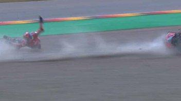 """MotoGP: Petrucci: """"Che paura la caduta a 200km/! ho temuto per la mano"""""""