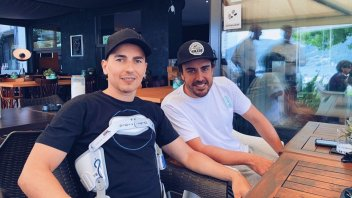 MotoGP: Un caffé con...7 titoli mondiali: Lorenzo & Alonso