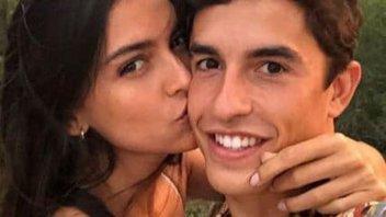 MotoGP: Vacanze al bacio per Marc Marquez e Lucia Rivera