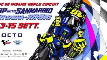 MotoGP: Il GP di Misano dedica il suo poster a Valentino Rossi