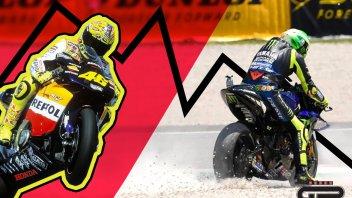 MotoGP: Il Dottore cerca una cura: la parabola discendente di Rossi