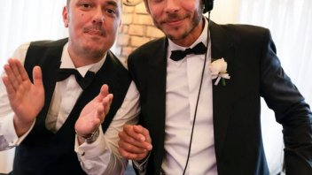 MotoGP: Valentino Rossi Deejay at Uccio's wedding