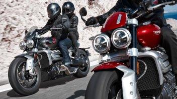 Moto - News: Triumph Rocket 3 my 2020: esagerare in due modalità