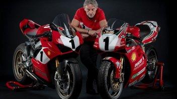 Moto - News: Carl Fogarty svela la Ducati Panigale V4 25° Anniversario 916