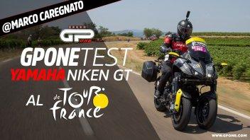 Moto - Test: Con la Yamaha Niken GT al Tour de France: caccia alla maglia gialla