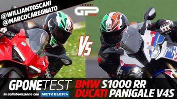 Moto - Test: Ducati Panigale V4S vs BMW S1000 RR: ecco qual è la migliore