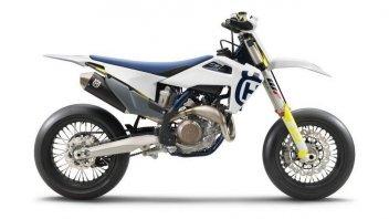 Moto - News: Husqvarna FS 450: arriva la versione 2020 della Supermoto