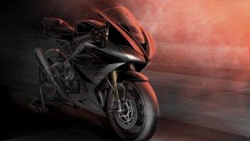 Moto - News: Una Moto2 con targa e fari: Triumph annuncia la Daytona 765 Limited