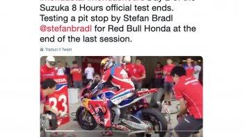 SBK: Pit Stop da Formula 1 per la Honda di Bradl alla 8 Ore di Suzuka