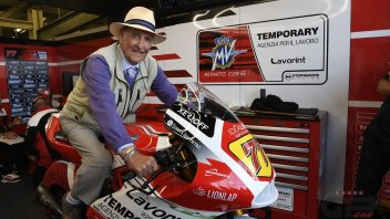 Moto2: Cecil Sandford: first champion with MV Agusta still on a bike