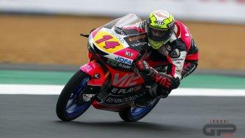Moto3: Per il compleanno Arbolino si regala la pole a Brno