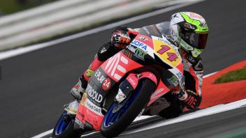Moto3: FP1: Arbolino primo con record a Silverstone