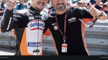 Moto3: Max Biaggi felice per Canet: ho Brno nel cuore