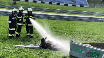 MotoE: MotoE on fire: The photos from the Red Bull Ring paddock