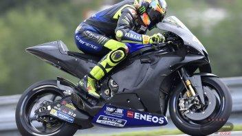 """MotoGP: Rossi: """"Il nuovo motore? Dà qualcosina, ma serve qualcosona"""""""