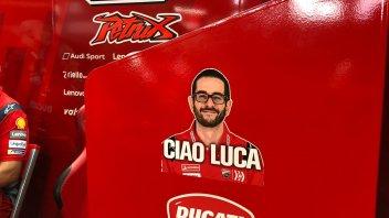 MotoGP: Danilo Petrucci pays tribute to Luca Semprini in his garage